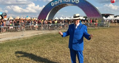 Bobby Osborne – surprise guest at Bonnaroo!