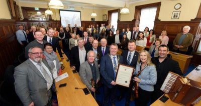 Altan Honored at Civic Reception by Donegal County Council